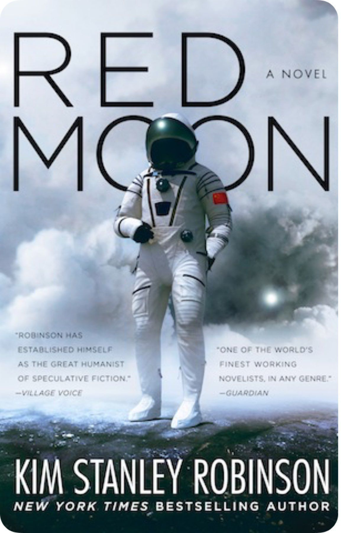 "Cover image of Kim Stanley Robinson's novel ""Red Moon"""